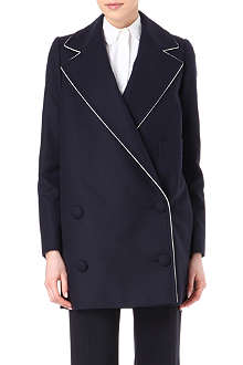 STELLA MCCARTNEY Wool and cashmere-blend coat