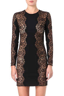 STELLA MCCARTNEY Lace panel dress