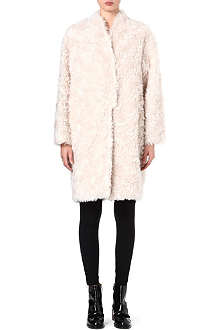 STELLA MCCARTNEY Bryce mohair-blend coat