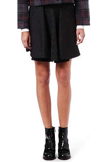 STELLA MCCARTNEY Pinstripe mini skirt