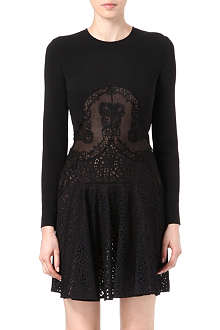 STELLA MCCARTNEY Lace-panel dress