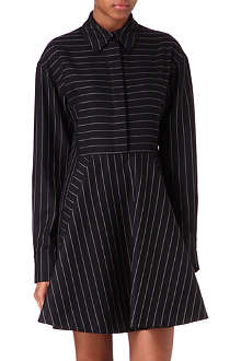 STELLA MCCARTNEY Pinstripe collar dress