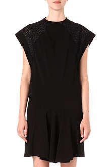 STELLA MCCARTNEY Lace-shoulder dress