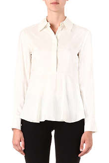 STELLA MCCARTNEY Pinstriped silk shirt