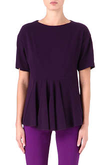 STELLA MCCARTNEY Flared-panel knitted top