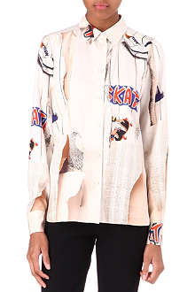 STELLA MCCARTNEY Skate silk shirt