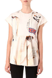 STELLA MCCARTNEY Skate-print top
