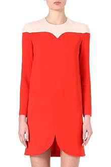 STELLA MCCARTNEY Two-toned shift dress