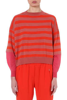 STELLA MCCARTNEY Oversized striped jumper