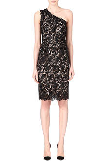 STELLA MCCARTNEY Asymmetric lace dress