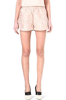 STELLA MCCARTNEY Python-print shorts