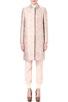 STELLA MCCARTNEY Python printed coat