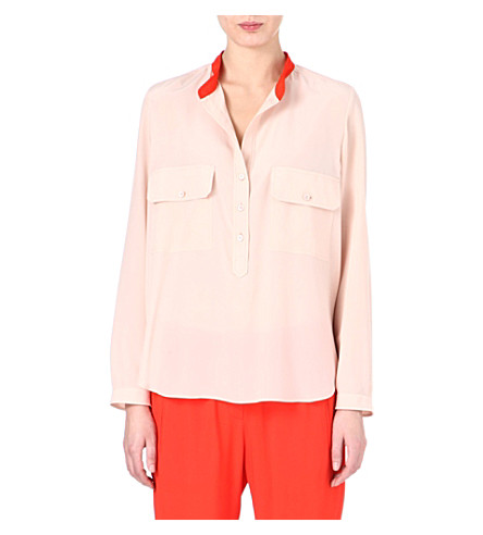 STELLA MCCARTNEY Silk shirt (Nude