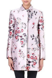 STELLA MCCARTNEY Floral-print jacquard coat