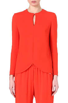 STELLA MCCARTNEY Curved-hem top