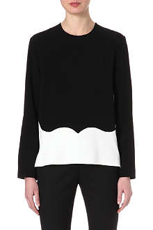 STELLA MCCARTNEY Contrast heart top