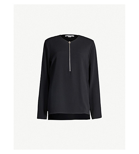 STELLA MCCARTNEY Arlesa stretch-crepe top (Black