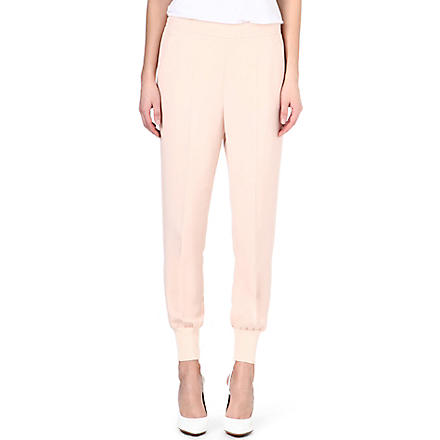 STELLA MCCARTNEY Cuffed jogging bottoms (Nude