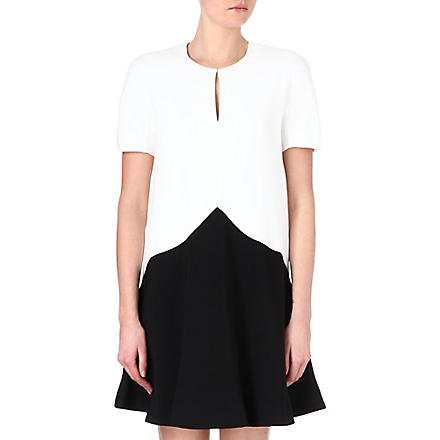 STELLA MCCARTNEY Two-tone dress (Black/white