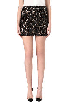 STELLA MCCARTNEY Lace mini skirt