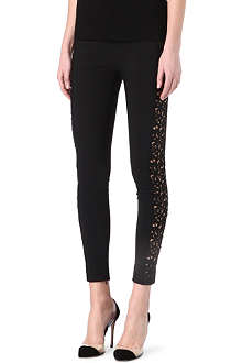 STELLA MCCARTNEY Mirabella lace-detailed leggings