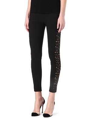 STELLA MCCARTNEY Mirabella lace-detailed leggings