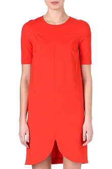 STELLA MCCARTNEY Curved-hemline dress