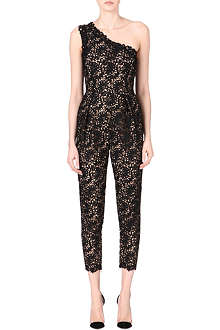 STELLA MCCARTNEY Asymmetric lace jumpsuit