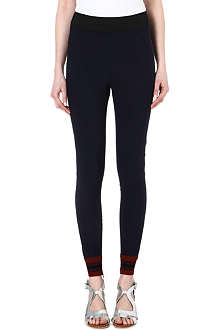 STELLA MCCARTNEY Leggings with stripe trim