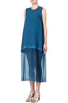 STELLA MCCARTNEY Maxi crepe dress
