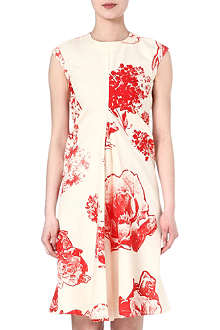 STELLA MCCARTNEY Floral-print silk dress