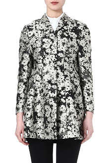 STELLA MCCARTNEY Daisy-print jacquard coat