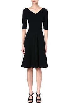 STELLA MCCARTNEY V-neck jersey dress