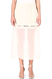 STELLA MCCARTNEY Cut-out midi skirt