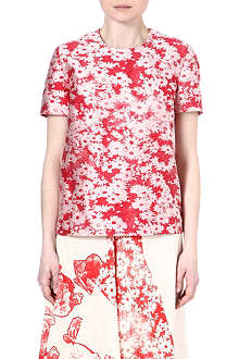 STELLA MCCARTNEY Daisy-print jacquard top
