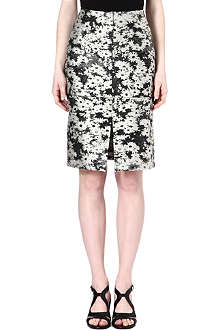 STELLA MCCARTNEY Silk-blend skirt