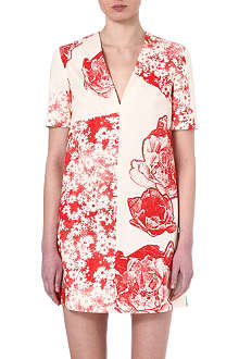 STELLA MCCARTNEY Floral-print tunic dress