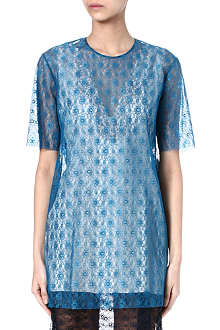 STELLA MCCARTNEY Lace tunic dress