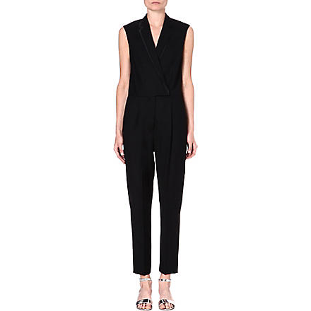 STELLA MCCARTNEY Tuxedo jumpsuit (Black