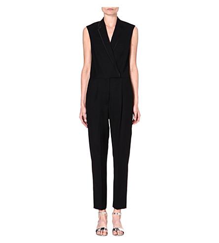 STELLA MCCARTNEY Tuxedo jumpsuit (Black
