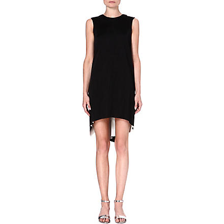 STELLA MCCARTNEY Ruffle-back dress (Black