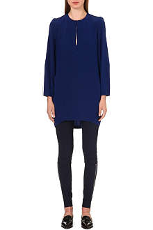 STELLA MCCARTNEY Long-sleeved silk tunic