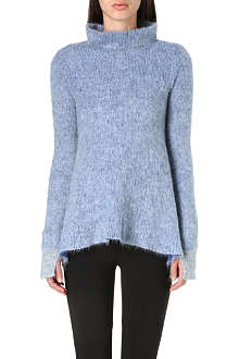 STELLA MCCARTNEY Turtleneck mohair-blend jumper