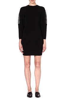 STELLA MCCARTNEY Open-knit dress
