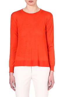 STELLA MCCARTNEY Wool and silk-blend jumper