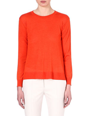 STELLA MCCARTNEY Wool and silk-blend jumper