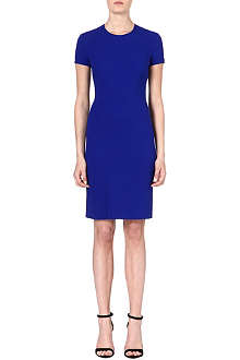 STELLA MCCARTNEY Flared-hemline crepe dress