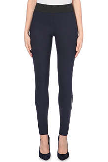 STELLA MCCARTNEY Skinny high-rise zipped cuff leggings