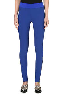 STELLA MCCARTNEY Ankle-zip jersey leggings