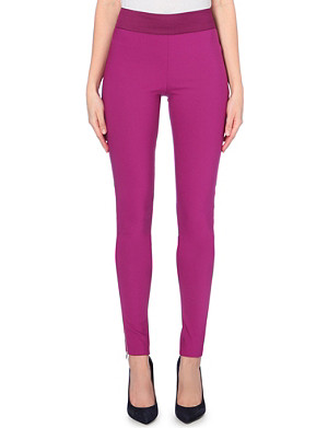 STELLA MCCARTNEY Skinny high-rise zipped-cuff leggings